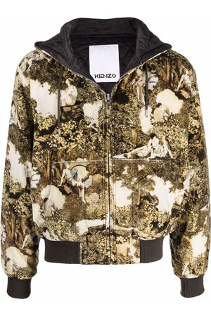 Kenzo Abstract-print hoodie