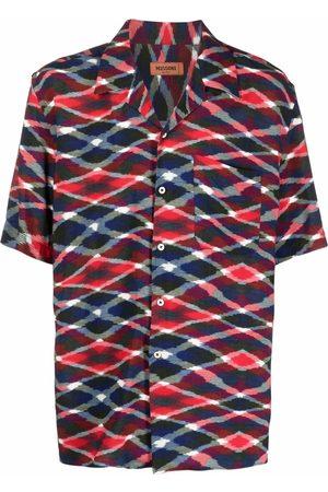 Missoni Geometric-print short-sleeved shirt