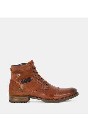 Redskins Boots Nitro lacets zip cuir