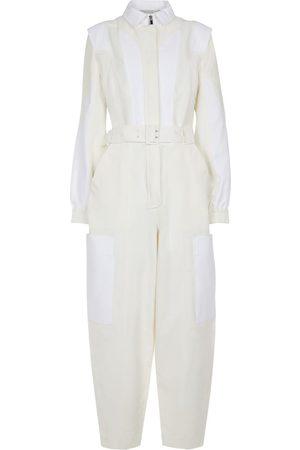 Stella McCartney Combi-pantalon en coton mélangé