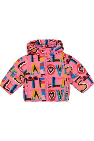 Stella McCartney Manteau doudoune imprimée pour bébé