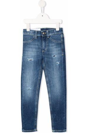 Dondup Distressed skinny-cut jeans
