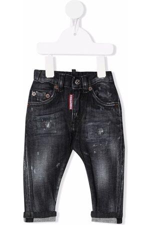 Dsquared2 Kids Garçon Skinny - Distressed skinny jeans