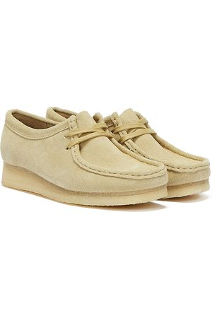 Clarks Wallabee Suede Chaussures Pour Femmes