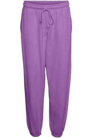 VERO MODA Taille Haute Jogging En Molleton Women purple