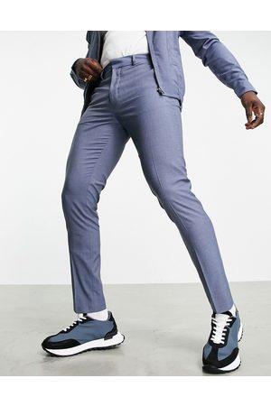 ASOS Homme Slim - Pantalon habillé d'ensemble coupe slim - Jean