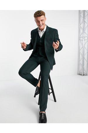 ASOS Homme Pantalons Slim & Skinny - Pantalon de costume slim - forêt