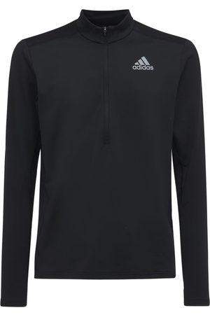 adidas Homme Manches longues - T-shirt De Course À Manches Longues En Primegreen