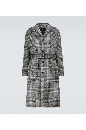 Dolce & Gabbana Manteau en laine à carreaux prince-de-galles