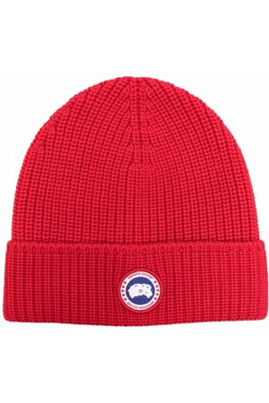 Canada Goose Arctic disc knit beanie