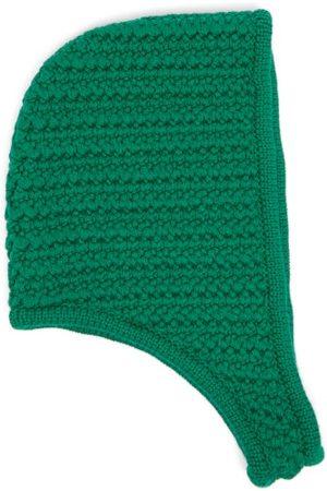 Miu Miu Femme Chapeaux - Capuche en laine au crochet