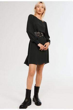 Claudie Pierlot Femme Robes - Robe ceinturée en polyester recyclé