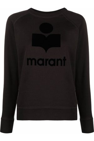 Isabel Marant Femme Sweatshirts - Emilly logo-print sweatshirt