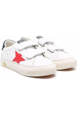 Golden Goose Old School double strap sneakers