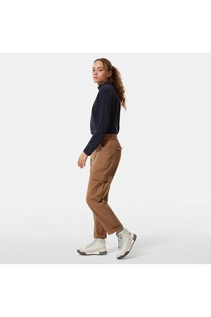 The North Face Pantalon Cargo Heritage Pour Femme Utility Brown Taille 42