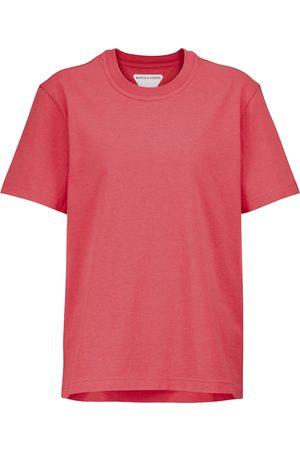 Bottega Veneta Femme Manches courtes - T-shirt en coton