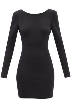 Dolce & Gabbana Robe courte en jersey à dos échancré