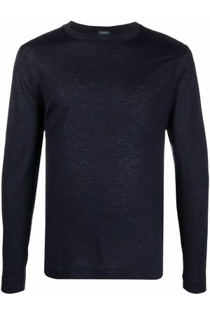 ZANONE Homme T-shirts - Round neck long-sleeved T-shirt