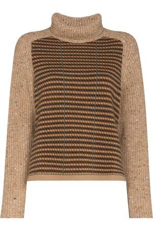 Polo Ralph Lauren Femme Pulls en maille - Checked raglan sleeves jumper
