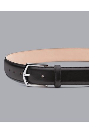 Charles Tyrwhitt Made In England Leather Formal Belt - Size 32 by