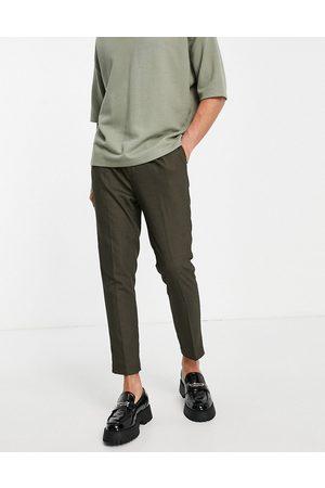 ASOS Pantalon élégant micro texturé coupe super skinny