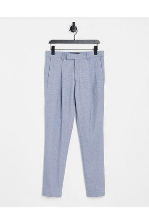 ASOS Pantalon d'ensemble skinny habillé en coton