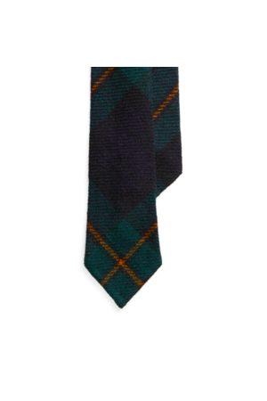 Polo Ralph Lauren Cravate étroite en laine tartan