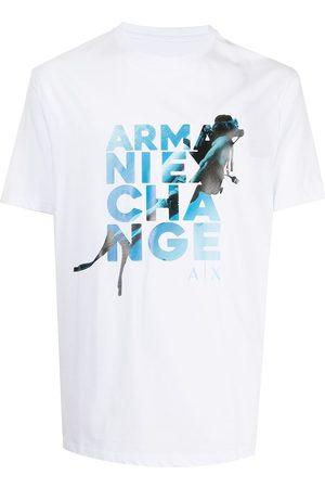 Armani Homme T-shirts - T-shirt à logo imprimé