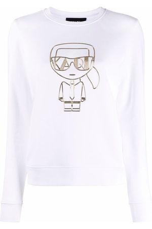 Karl Lagerfeld Femme Sweatshirts - Sweat à logo Ikonik imprimé