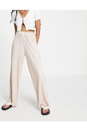 Outrageous Fortune Pantalon ample plissé d'ensemble - Rose blush