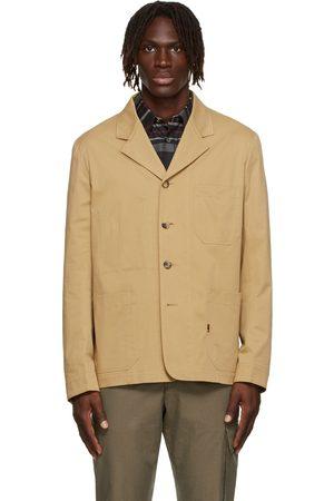 Paul Smith Homme Blazers - Blazer de travail beige en coton bio