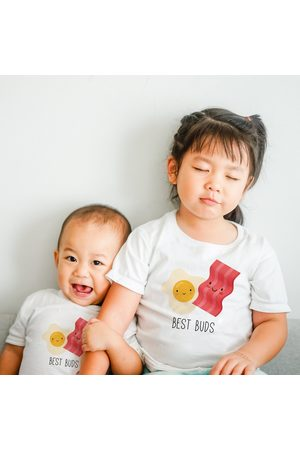 MilkandCookies Big Sister Little Brother Outfits, Big Sibling Matching Tees, T Shirts, T-Shirt