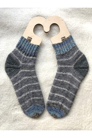 TanielaKnit Chaussettes Shining Wool Chaussettes Tricotées