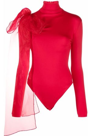Atu Body Couture Femme Bodys - Bow-detail roll-neck bodysuit