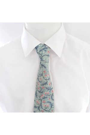 """Liberty59 Liberty Of London Men's Tie Made in Floral Liberty Print """"Dorothy Wiston - Cravate Florale/Homme ~ Et Rose"""