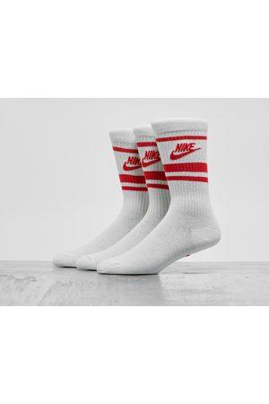 Nike Homme Chaussettes & Bas - Essential Stripe Socks (3 Packs)