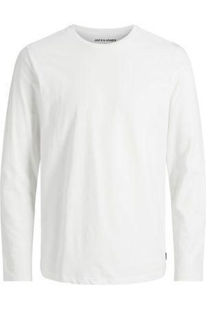 JACK & JONES Basique T-shirt À Manches Longues Men White