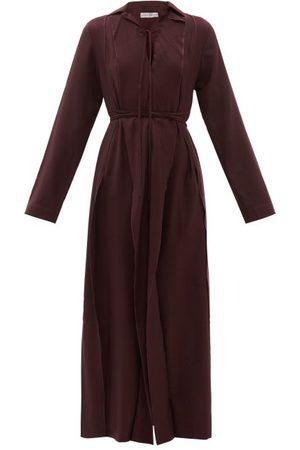 PALMER / HARDING Femme Robes longues - Palmer//harding - Robe longue en sergé de laine Emotions Unfold
