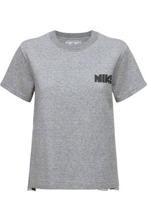 Nike Femme Sweatshirts - Haut En Polaire Plissé Sacai