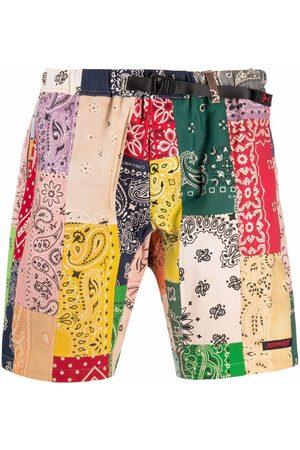 READYMADE Homme Shorts - Short à imprimé bandana