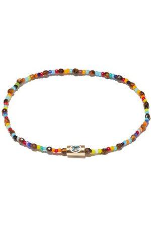 LUIS MORAIS Bracelet en perles, , cristal et ail de tigre