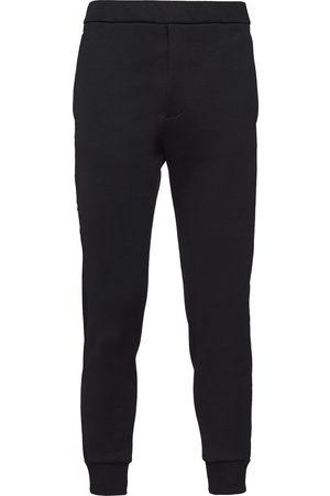 Prada Pantalon de jogging à plaque logo