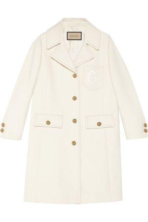Gucci Femme Manteaux - Manteau GG à boutons embossés