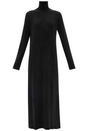 Raey Femme Robes - Robe col roulé côtelée en cachemire recyclé