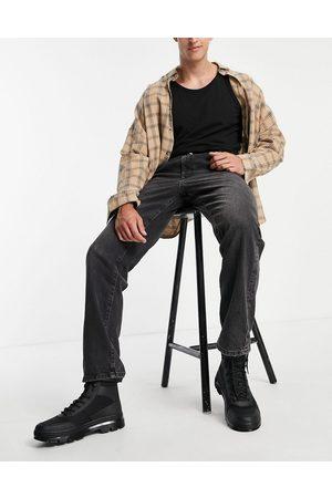 ASOS Jean droit à double plis - délavé