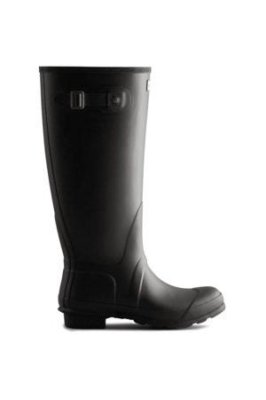 Hunter Boots Bottes Wellington Hautes à Coupe Large Pour Femme