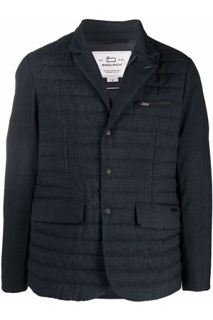 Woolrich Quilted fitted blazer