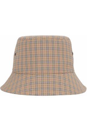 Burberry Homme Chapeaux - Technical check bucket hat