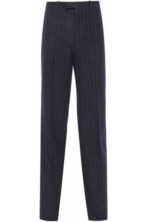 Prada Homme Pantalons - Striped tailored trousers
