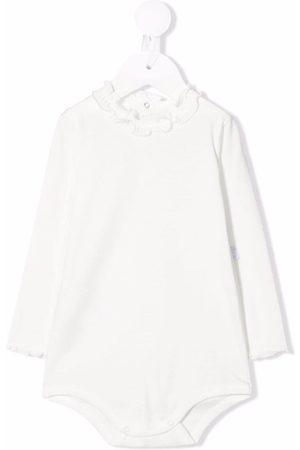 Il Gufo Frilled-collar cotton body